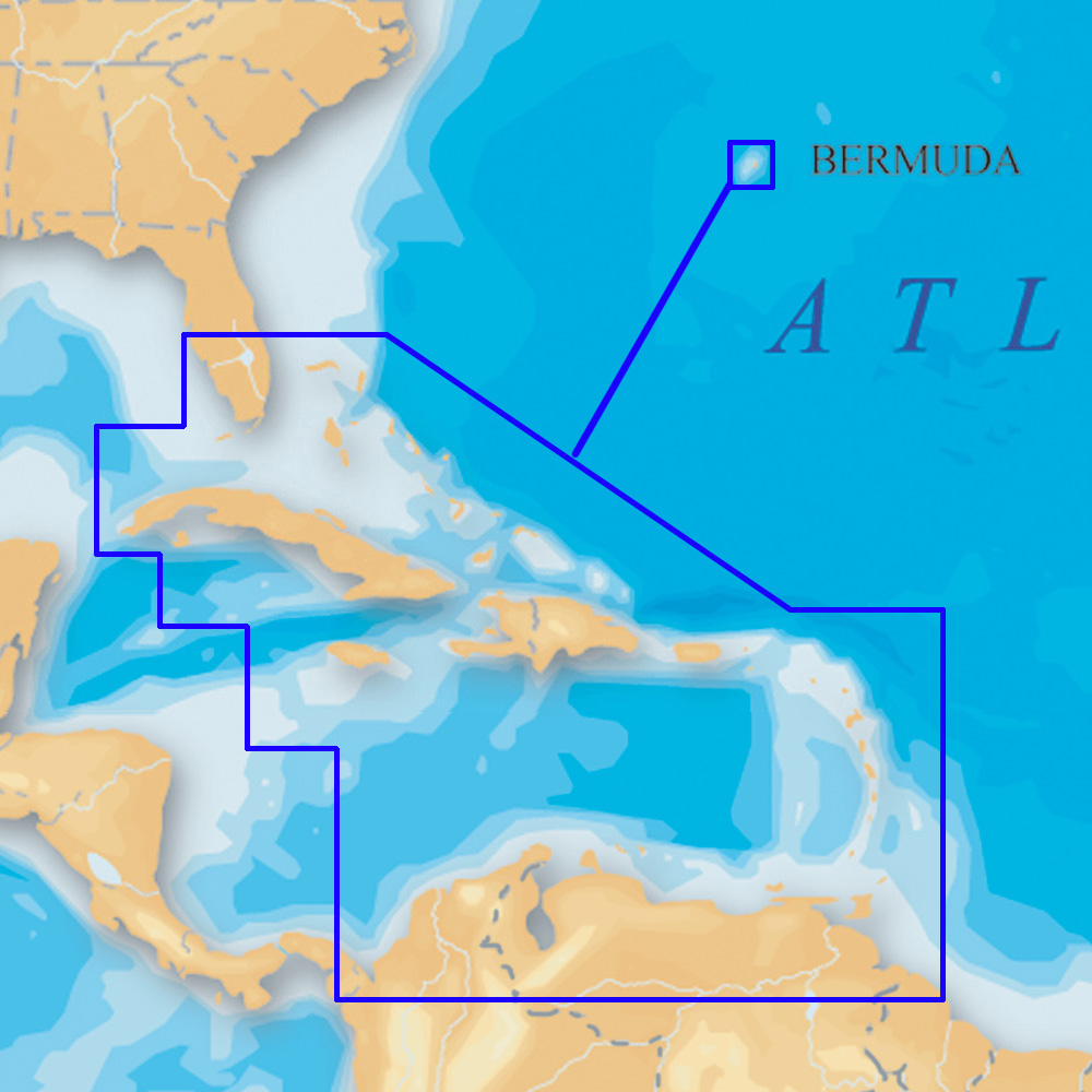 Navionics platinum caribbean on sd micro sd msd 908p 2 for Navionics fishing app