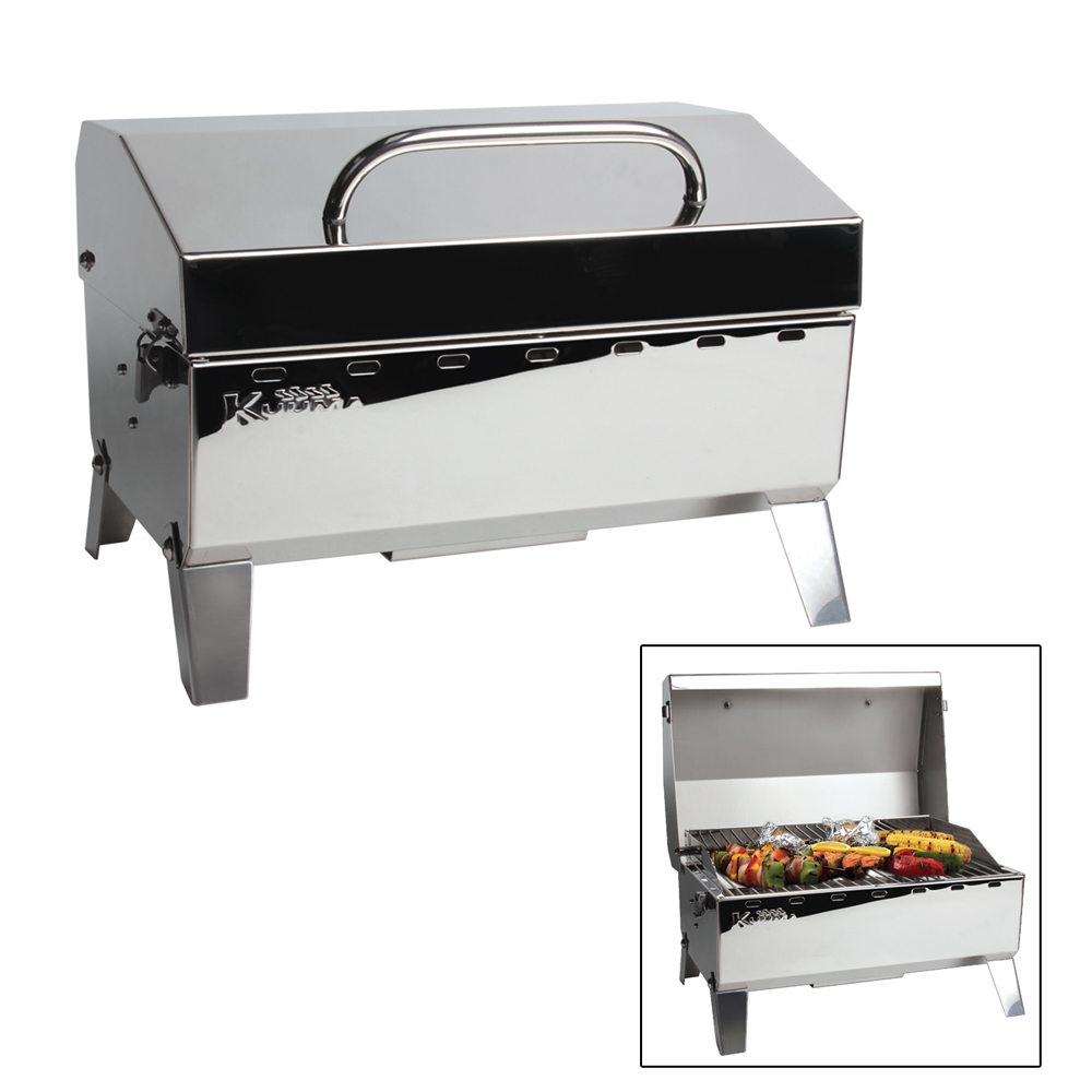 kuuma stow n 39 go 125 gas grill 9 000btu with regulator 58140 anchor express. Black Bedroom Furniture Sets. Home Design Ideas